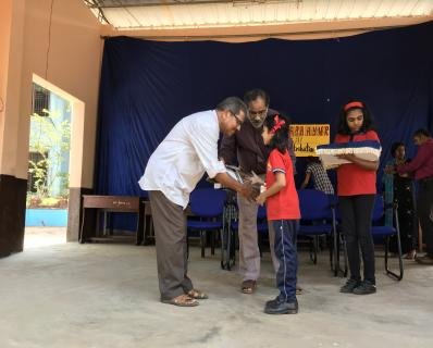 CCA PRIZE DISTRIBUTION (PRIMARY) -2019-20